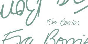 Der Schriftzug des Logos von Eva Borries - Referentin für Medienpädagogik. Design: RORE DESIGN