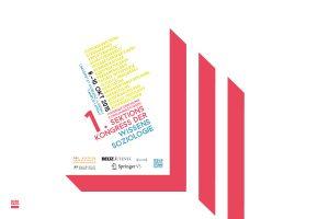 Das Plakat zum 1. Sektionskongress der Wissenssoziologie in Landau. Design: RORE DESIGN