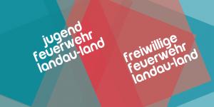 Schriftzug der Freiwilligen Feuerwehr Landau-Land und der Jugendfeuerwehr Landau-Land. Design: RORE DESIGN