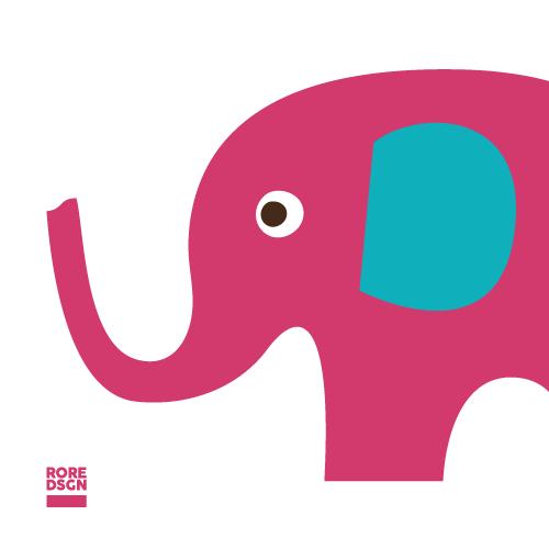 Der Elefant der Bambini Feuerwehr Landau-Land. Design: RORE DESIGN