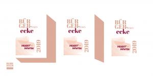 Vorstellung der Grafik des Programmflyers der Bürgerecke Neustadt - Herbst/Winter 2019. Design: RORE DESIGN - Grafikdesign aus Landau
